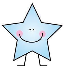 Resultado de imagen para estrella para niño de color dibujo