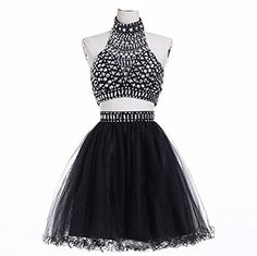 R&J Women's Two Pieces Halter Coral Homecoming Rhinestones Short Formal Prom Dress Black Size 2 RJ http://www.amazon.com/dp/B0144CRKJS/ref=cm_sw_r_pi_dp_NWNcxb1S6Z9FQ