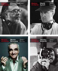 Phaidon Masters of Cinema...Francis Ford Coppola, David Lynch, Martin Scorsese, Stanley Kubrick, et al.