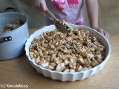 kaurapaistos_18 Cereal, Oatmeal, Breakfast, Food, The Oatmeal, Morning Coffee, Rolled Oats, Essen, Meals