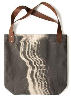 Sunday Market Tote in Lightning   Mod Retro Vintage Bags   ModCloth.com