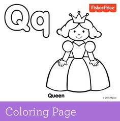 Q Coloring Page ... Pinterest | Printable coloring pages, Free coloring pages and Coloring