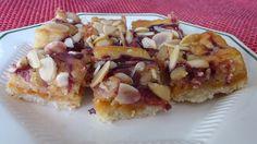 Italian Raspberry Almond Paste Squares