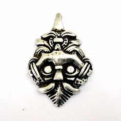 Pendant with Gnesdowo's Viking head from the Viking age