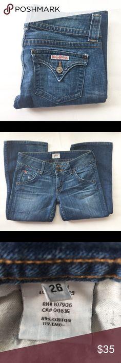 "HUDSON JEANS GUC 30"" inseam Hudson Jeans Jeans Boot Cut"
