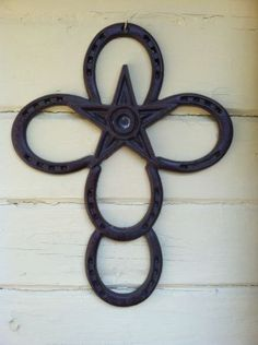 Horseshoe Cross for Western Themed Baby Room