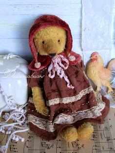 Teddy bear Greta By Elena Bestuzheva