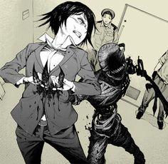 #Ajin #Anime #Gore #Manga