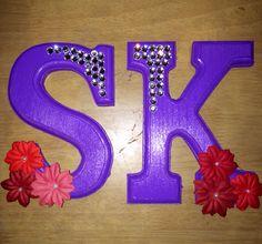 Sigma Kappa Letters! Sorority Craft. Big/Little!