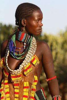 African People - Traditional Clothes