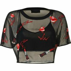 Best Teen Fashion Part 7 Girls Fashion Clothes, Teen Fashion Outfits, Edgy Outfits, Cute Casual Outfits, Black Outfits, Cropped Tops, Cute Crop Tops, Teenage Outfits, Outfits For Teens