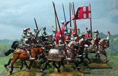 28mm Medieval Wars of the Roses Paper Flags Richard Neville Earl Warwick Yorkist