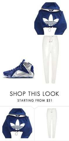 """""""Untitled #197"""" by babyana1 on Polyvore featuring adidas and River Island"""