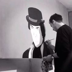 Wall Painting A Clockwork Orange