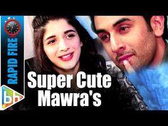Mawra Hocane's SUPER-CUTE Rapid Fire On Ranbir Kapoor   Salman Khan   Ryan Gosling - YouTube