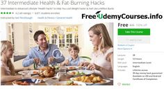 [#Udemy 100% Off] 37 Intermediate Health & #Fat_Burning Hacks   About This Course  Published 4/2016English  Course Description  Its been said that big doorsswing on small hinges.  In other words you can achieveBIG RESULTSwith surprisinglysmall actions  As long as youre taking theRIGHTactions.  And in this program youre going to learn what those actions arewhat those small hinges arewhen it comes to weight loss.  Hi Im Neil the creator of this program and the founder StrongerLeaner. And I…