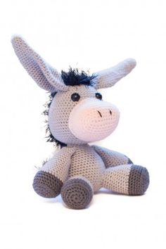 Amigurumi Donkey Pattern                                                                                                                                                                                 Plus