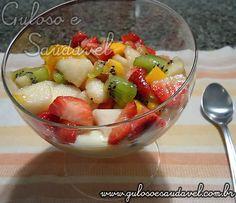 Salada de Frutas Especial » Guloso e Saudável