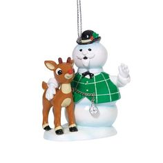 Rudolph Tell Me A Story Sam, Christmas Ornament by Department 56