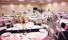 A pink and brown wedding I coordinated :)