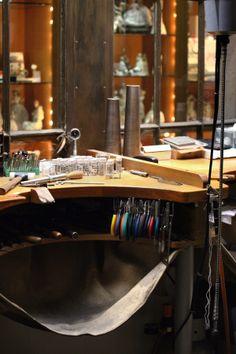 Jewellers on-site workshop
