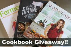Three uhMAZing cookbooks up for grabs!
