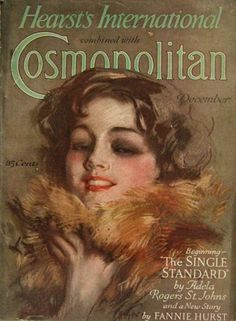 Cosmopolitan Magazine Cover from 1927 by Artist Harrison Fisher