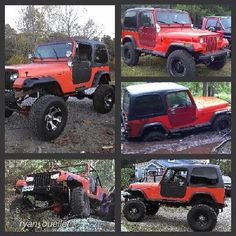 """by @ryan_ouellet """"Some people would.never understand the pride and joys of building and owning a jeep. #jeep #jeepbeef #urbancrawlers #jeepsweekly #yj #orn #jeeps #love #crawlers #wrangler #orange"""" #Padgram"""