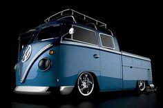 Pick up bus Volkswagen Transporter, Vw T1 Camper, Vw Caravan, Auto Volkswagen, Vw Bugs, Kombi Pick Up, Combi Ww, Combi Split, Land Cruiser