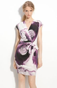 A floral print dress that isn't for the 60-and-up set.