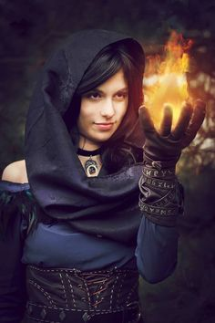 Yennefer from Witcher 3: Wild Hunt Cosplayer: Shial Photographer: Skiu photography