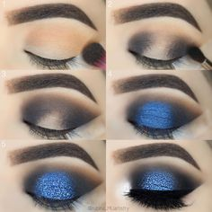 52 Natural Eye Makeup Step by Step for Beginners - - Simple Eye Ma . - 52 Natural Eye Makeup Step by Step for Beginners – – Simple Eye Makeup Tutorial Step by Step for Beginners, Eye Makeup Looks Ideas, Mak – # Beginners # Beginners # for Dramatic Eye Makeup, Eye Makeup Steps, Beautiful Eye Makeup, Simple Eye Makeup, Blue Eye Makeup, Makeup Eyeshadow, Eyeliner, Makeup Brushes, Eyeshadow Brushes