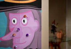 Celebrate with HERSHEY'S - halloween Pin the Wart on the Witch Game
