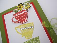 Tea Shoppe card for workshop