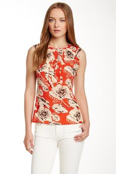 Thora Silk Blouse by Tory Burch on @HauteLook