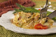 This restaurant-fancy chicken recipe is one you& want to use when you really want to impress company! We think the layer of mushrooms and flavorful sauce really add an extra-special flair to our Alice Springs Chicken. The best part? You can whip th Turkey Recipes, Meat Recipes, Chicken Recipes, Cooking Recipes, Dinner Recipes, Healthy Recipes, Diabetic Recipes, Gourmet Chicken, Healthy Foods