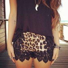 Those shorts!!!   - Find The Top Juniors and Teens Clothing Stores Online via http://AmericasMall.com/categories/juniors-teens.html