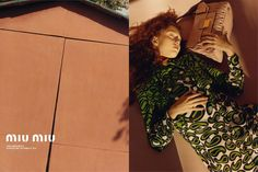 Miu Miu Resort Ad Campaign 2015, by Jamie Hawkesworth
