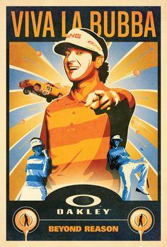 Oakley's Viva La Bubba poster by DKNG