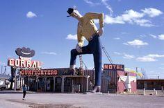 1962, Canyon, Texas, those were genuine Levi jeans and shirt. He's ...