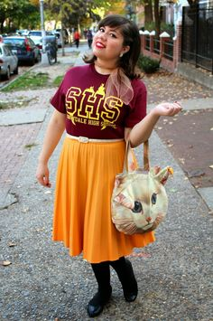 Twee Valley High // Buffy Week: What I Wore To Sunnydale High