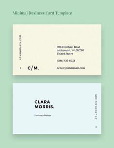 50 Minimal Business Cards That Prove Simplicity is Beautiful - Visitenkarten Design Business Card Maker, Business Cards Layout, Free Business Card Templates, Minimalist Business Cards, Free Business Cards, Unique Business Cards, Black Business Card, Creative Business, Branding Design