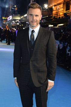 Plus 5 other menswear moves to steal from this week's most stylish men, including Hugh Jackman, Luke Evans and James Norton Take That Band, Eddie The Eagle, Mark Owen, Gary Barlow, Look Formal, Best Dressed Man, Robbie Williams, Gq Magazine, Luke Evans