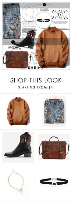 """""""SHEIN-best site ever.Visit it and find amazing clothes."""" by maiah-bee ❤ liked on Polyvore"""