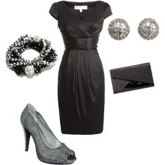 Evening Out, created by tksmile21 on Polyvore