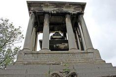 Mausoleum of Baroness Elizaveta Alexandrovna Stroganova (1779-1818) - Russian aristocrat of the Stroganov family