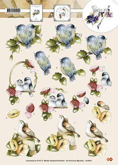 3D Knipvel - Precious Marieke - Vogels