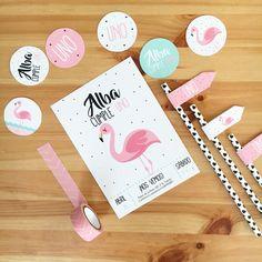 Flamingo Party Theme - Ideas para un cumple de Flamenco