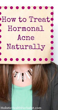 How to Treat Hormonal Acne  Naturally - #naturalskincare #healthyskin #skincareproducts #Australianskincare #AqiskinCare