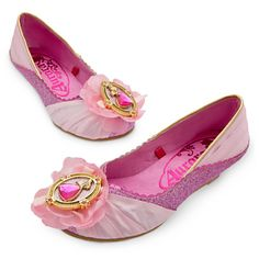 Aurora Shoes for Girls   Costumes & Costume Accessories   Disney Store